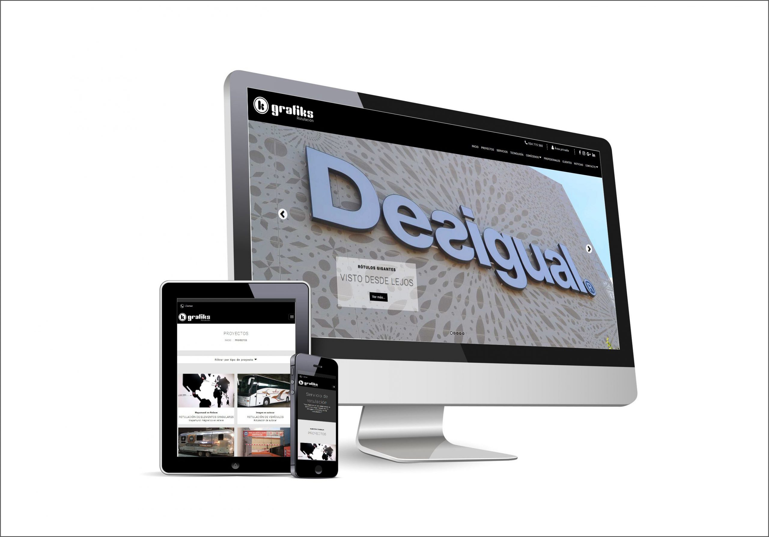 Site web responsivo