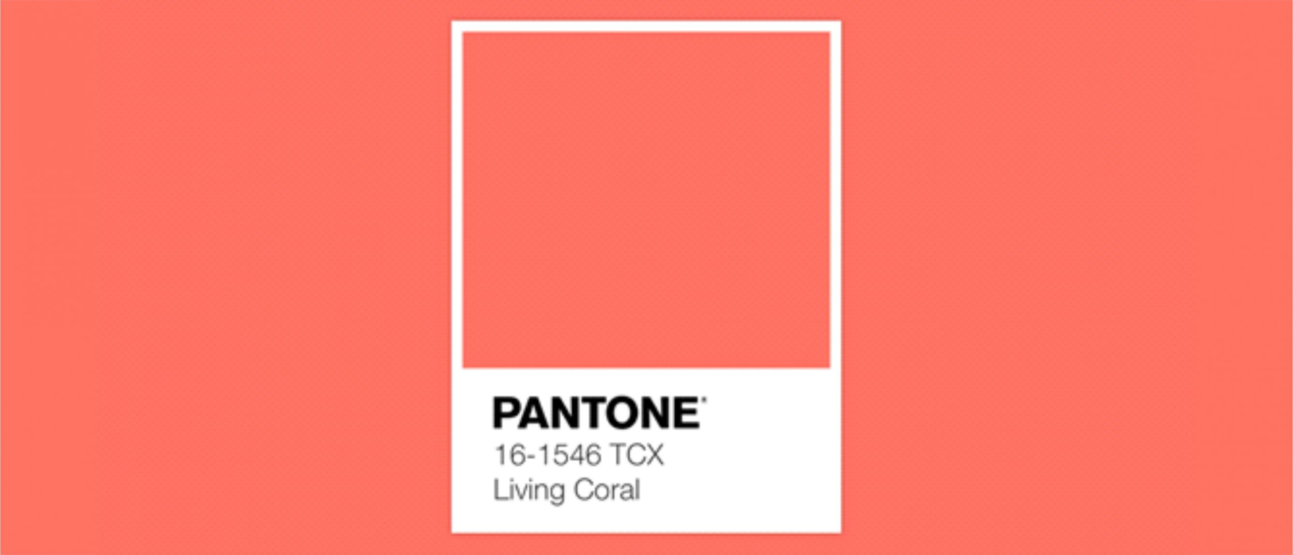 Pantone: elección del Color 2019. Living Coral.